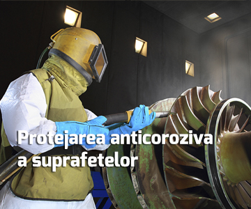 Protejarea anticoroziva a suprafetelor - Sablarea