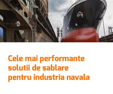Cele mai performante solutii de sablare pentru industria navala