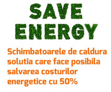 Schimbatoarele de caldura – solutia care face posibila salvarea costurilor energetice cu 50%
