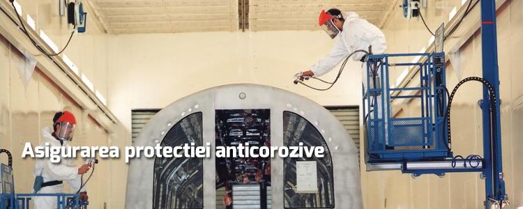 Asigurarea protectiei anticorozive - Vopsire industriala