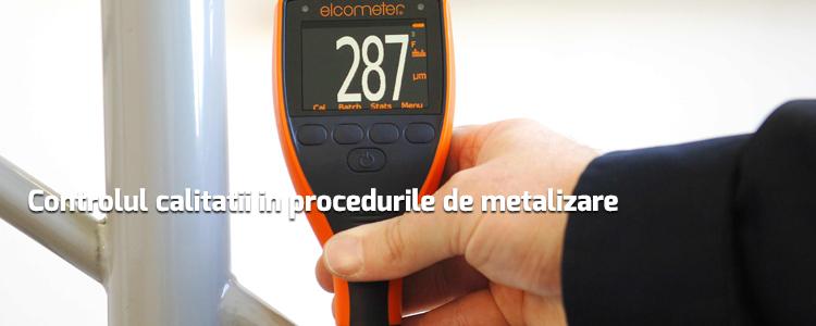 Controlul calitatii in procedurile de metalizare