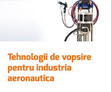 Tehnologii de vopsire pentru industria aeronautica
