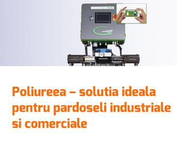 Poliureea – solutia ideala pentru pardoseli industriale si comerciale