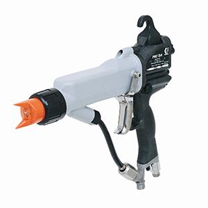 Pistol manual de vopsire electrostatic pentru vopsea lichida