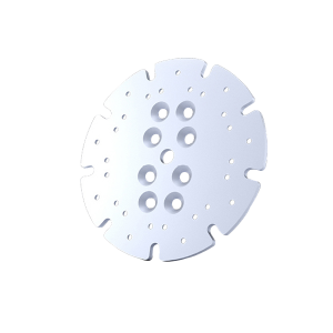 Disc de adaptare pentru placutele de slefuire