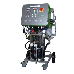 NOVAG I – pompa hidraulica portabila pentru aplicare poliuree si spuma poliuretanica