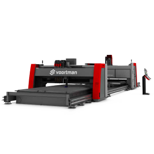 Voortman V330 - sistem dual de debitare si gaurire table